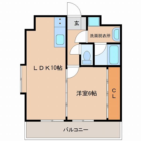 センチュリーコート5番館(芳士)5号室