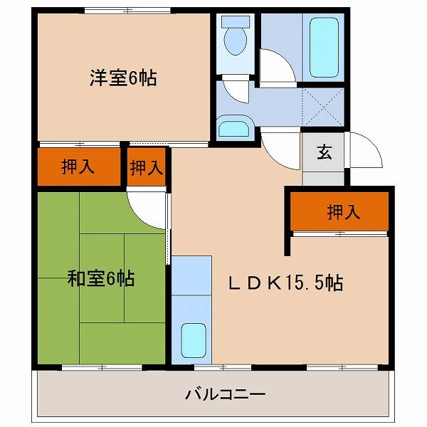 高洲マンション(203)
