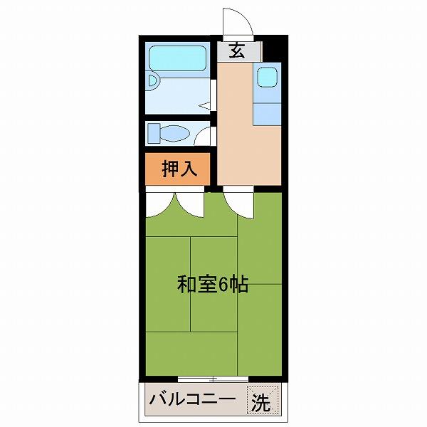 カーサTIKI南宮崎(302)