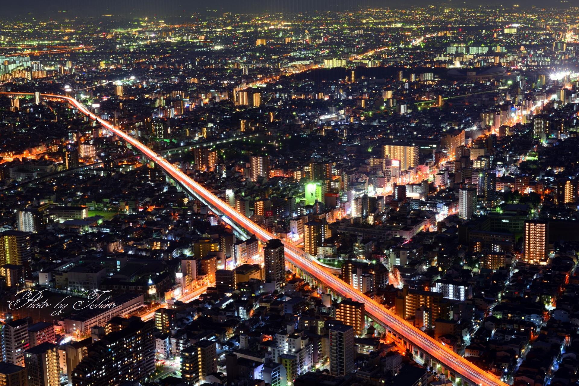 阪神高速14号松原方面