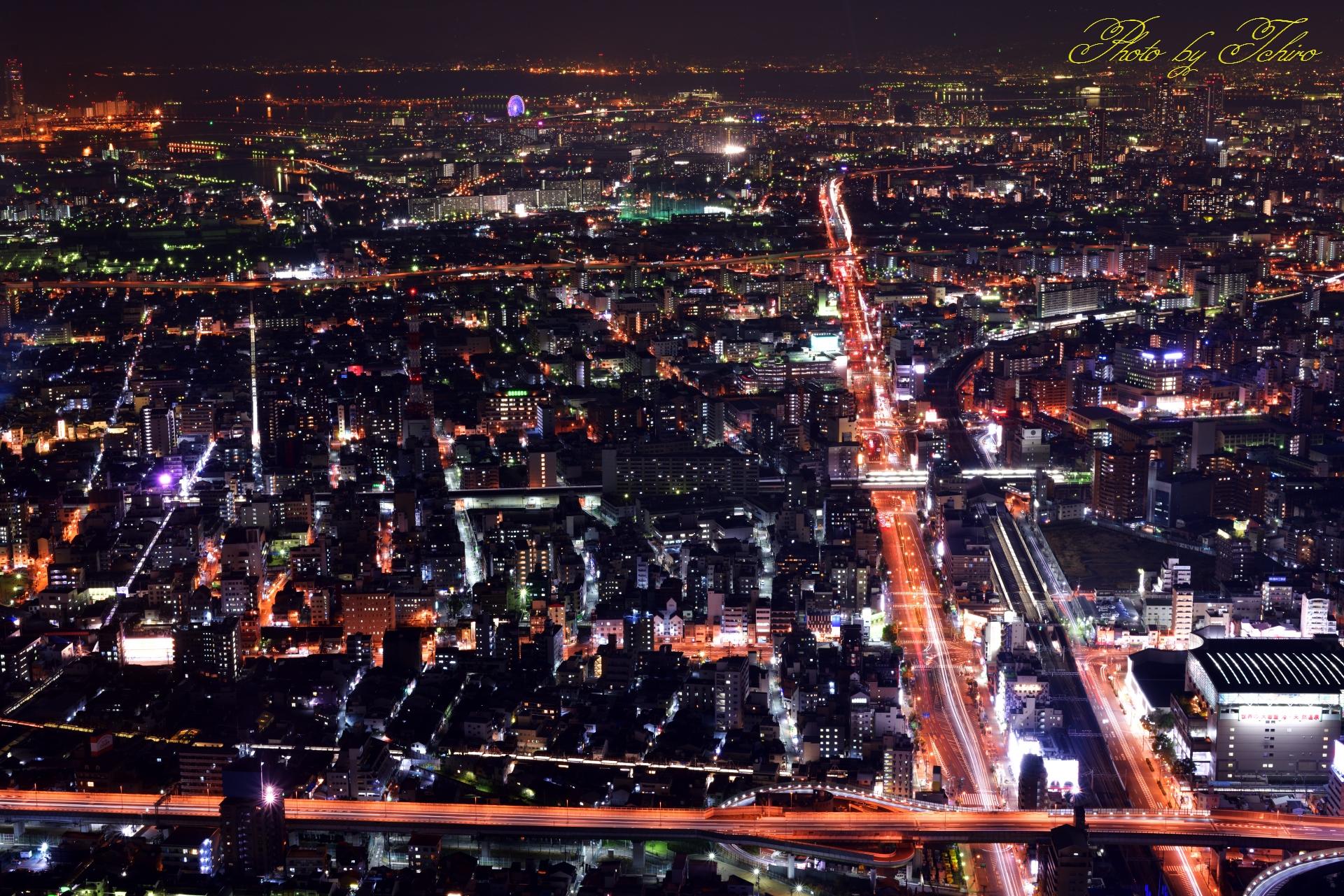 大阪港方面
