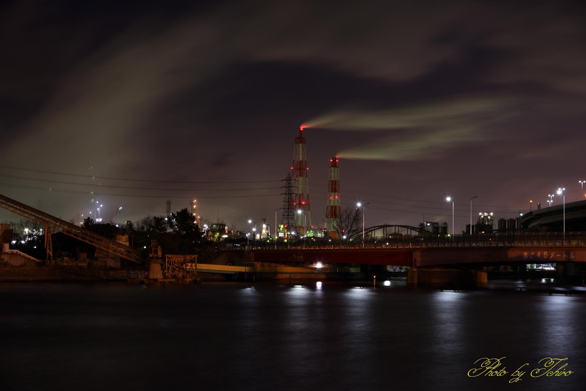 高砂工場夜景