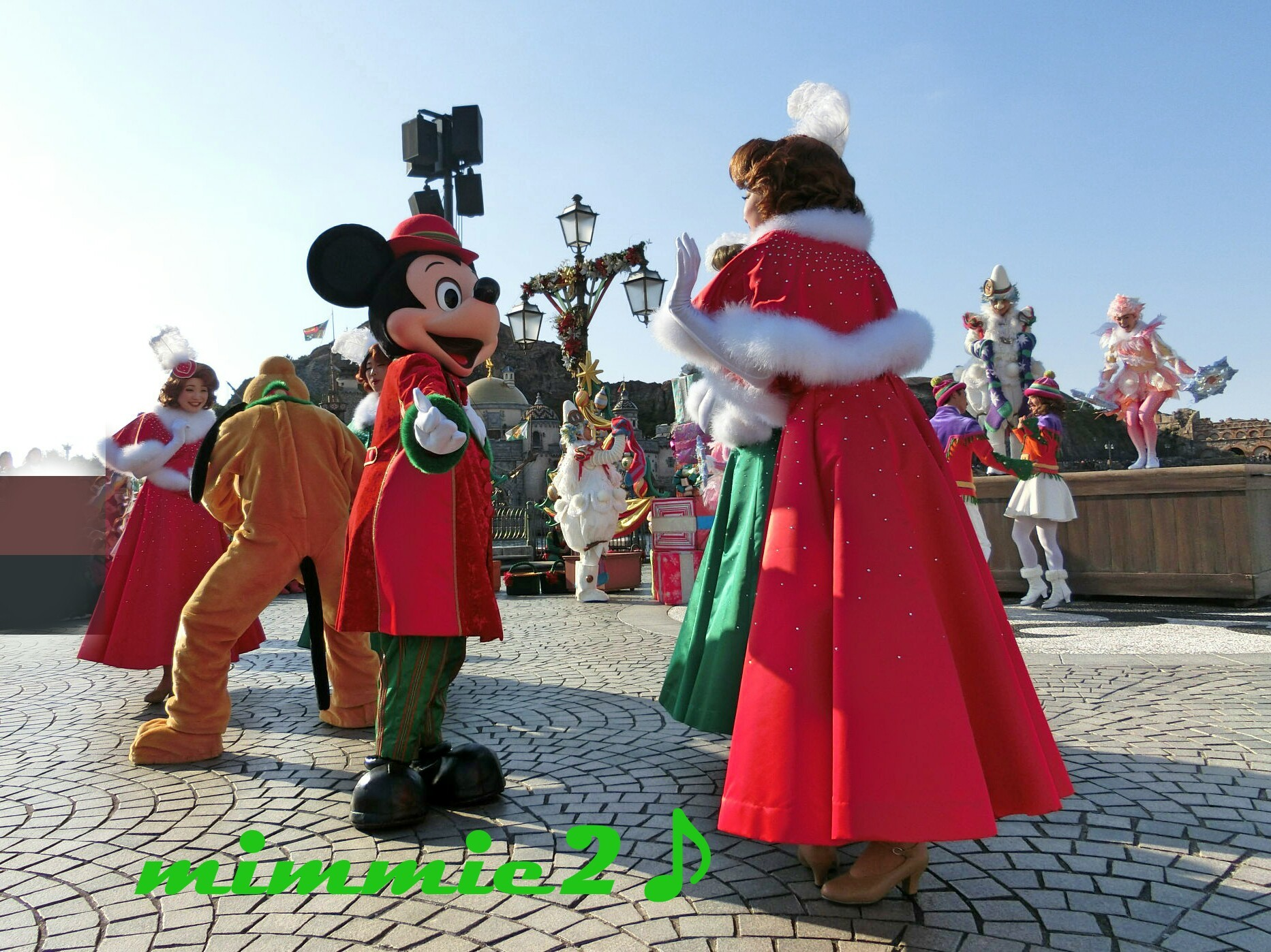 パーフェクトクリスマス☆ミッキー&プルート☆その2(リド最前)