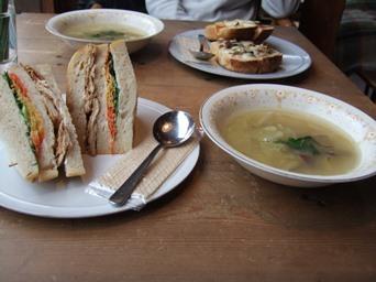 2/10 サンドイッチとスープのセット カマクラ24SEKKI