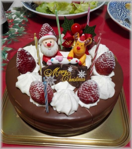 ケンテル 201612 クリスマスケーキ (1)