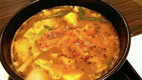スープで食べるチゲ風カレー CoCo壱番屋 北区西天満四丁目店 201702 (4)
