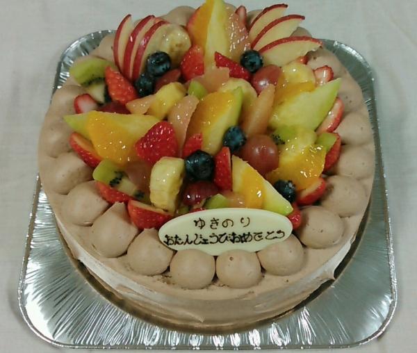 ボンシック タルト誕生日ケーキ 201701 (6)