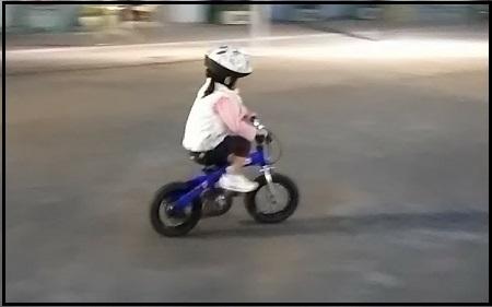 3歳「へんしんバイク」3日目で自転車乗れるようになりました!