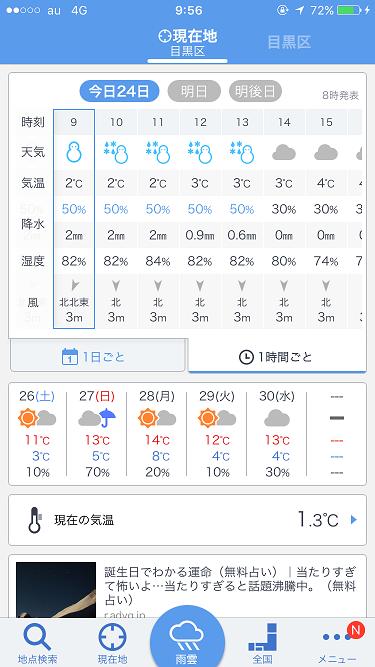 2016年11月24日天気予報2 by占いとか魔術とか所蔵画像