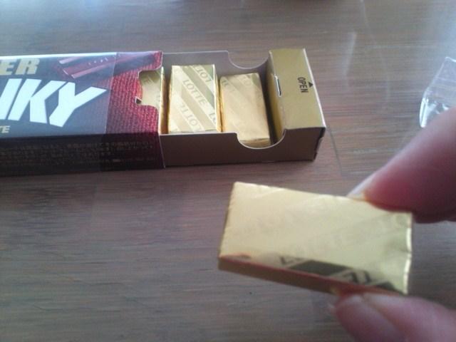 ロッテ クランキー スリムパック ビター