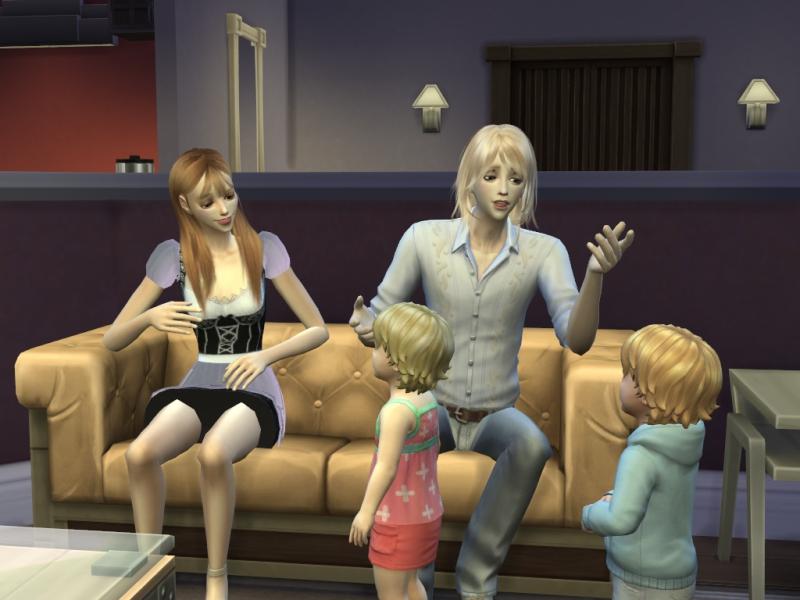 Sims4に幼児(Toddler)シムが追加されました。