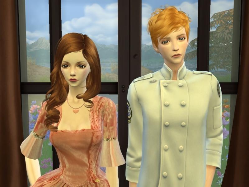 Sims4 CASチャレンジ Part22(「Reign」 Leith&Claude)