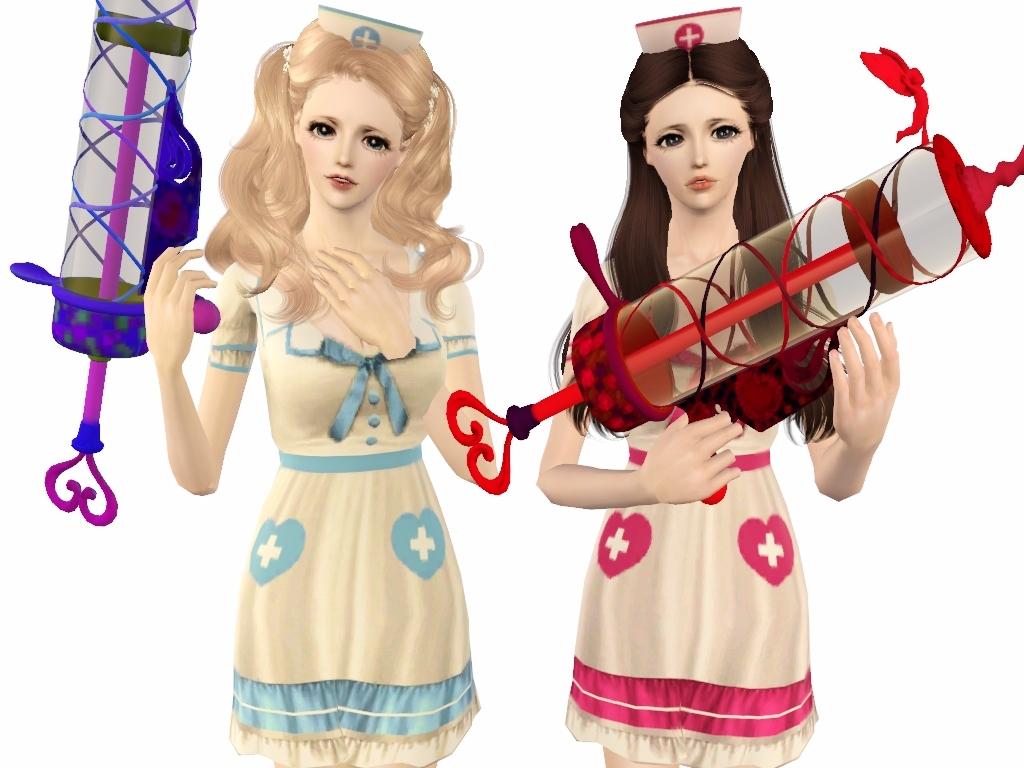 「Re:Birth」 Fiona & 「The Crowns」 Charlotte ✼ Sexy Nurse Part1