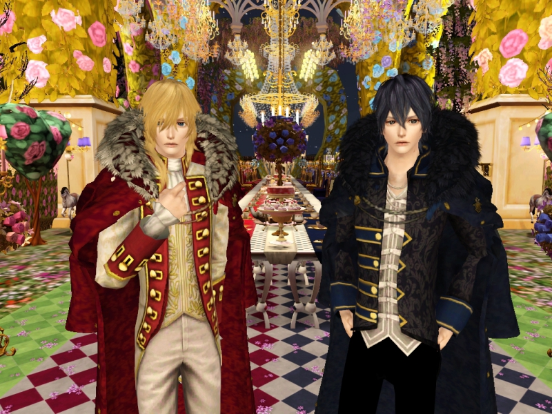 Sims3 CASチャレンジ Part4 「アリスと恋の魔法」 *~ランスロット&レイ~*