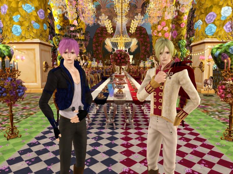 Sims3 CASチャレンジ Part5 「アリスと恋の魔法」 *~ヨナ&フェンリル~*