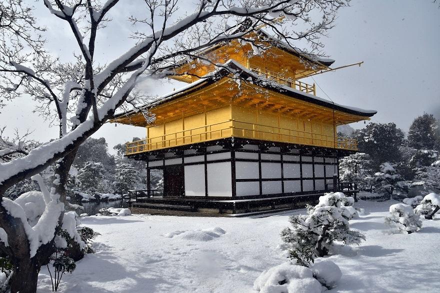 金閣寺・雪 (0)