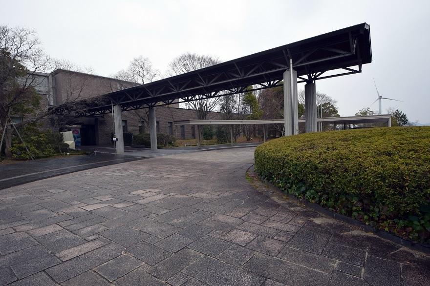 琵琶湖博物館・冬 (1)
