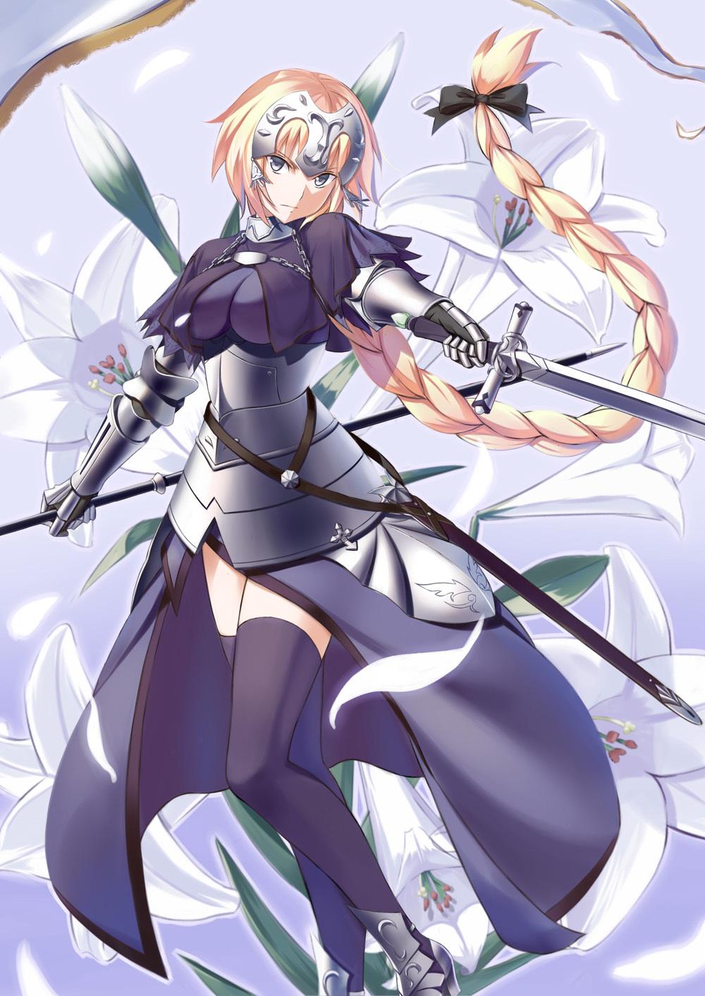 Fate Grandorder ジャンヌ ダルク Joan Of Arc 2236 厳選アニメ