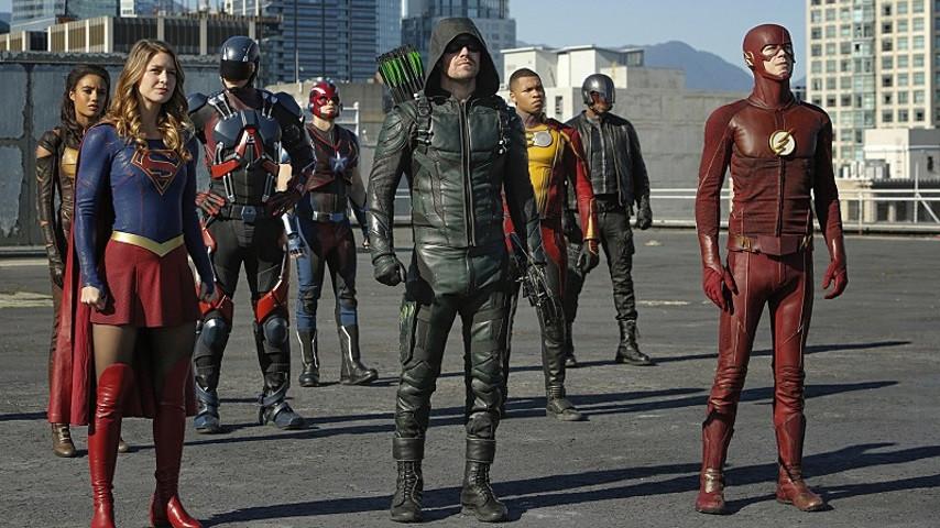 Arrow」、「The Flash」、「Supe...