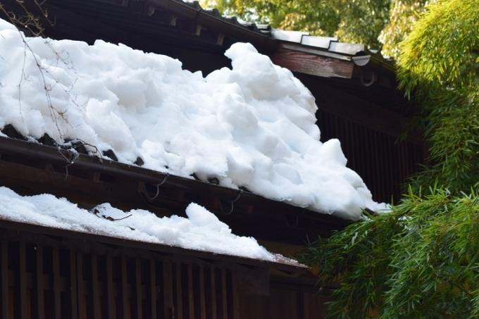 雪下ろし大変