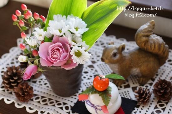 お正月の花201701-14