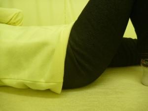 股関節捻挫 変わった場所での矯正