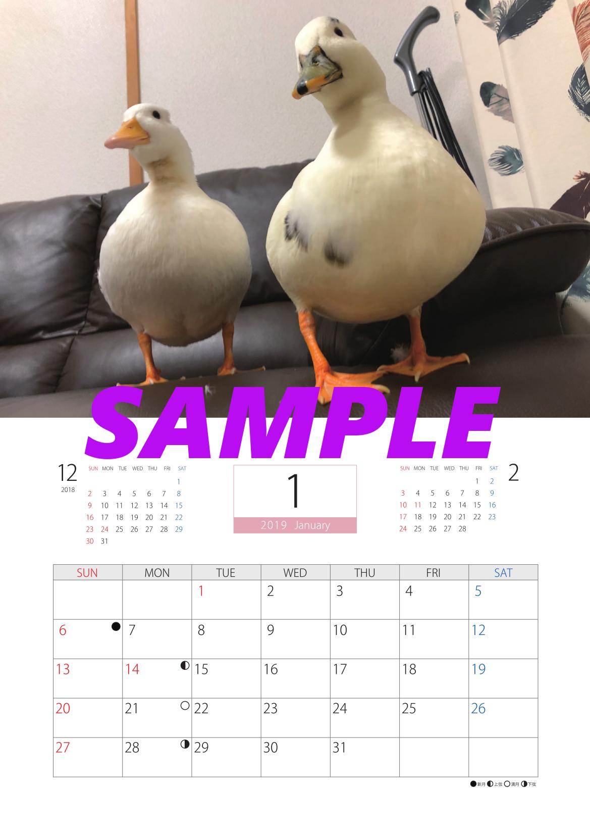 カレンダーSAMPLE2