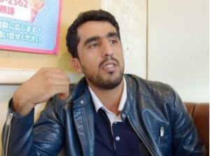 C0eTtsiUkAEGbEa沖縄市のアフガン出身男性