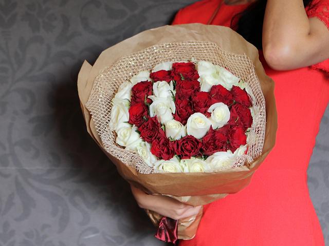 フラワーバレンタイン プロポーズ バレンタイン バラ 花束 サプライズ