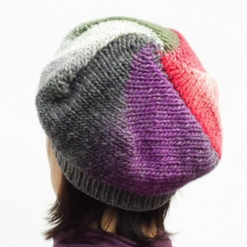 1635トップグラデーションブランドベレー帽