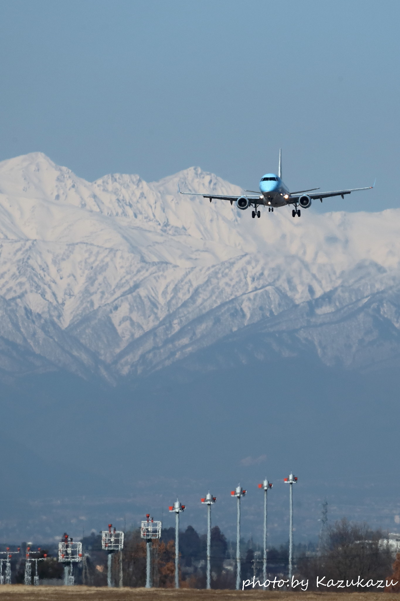 信州まつもと空港で初めての撮影 - デリカD5で車中泊!日本中の航空祭