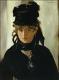 マネ 黒い帽子のベルトモリゾ