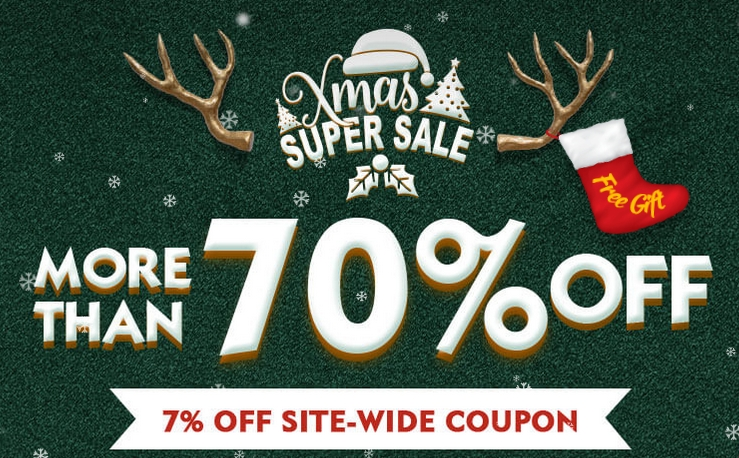 2018 Banggood Xmas SuperSALE