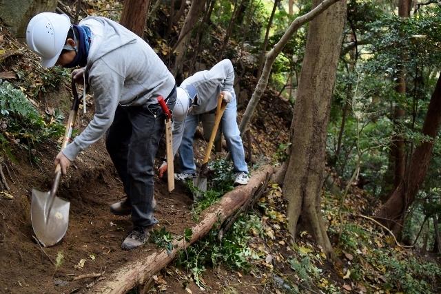 12月の高安山森林整備