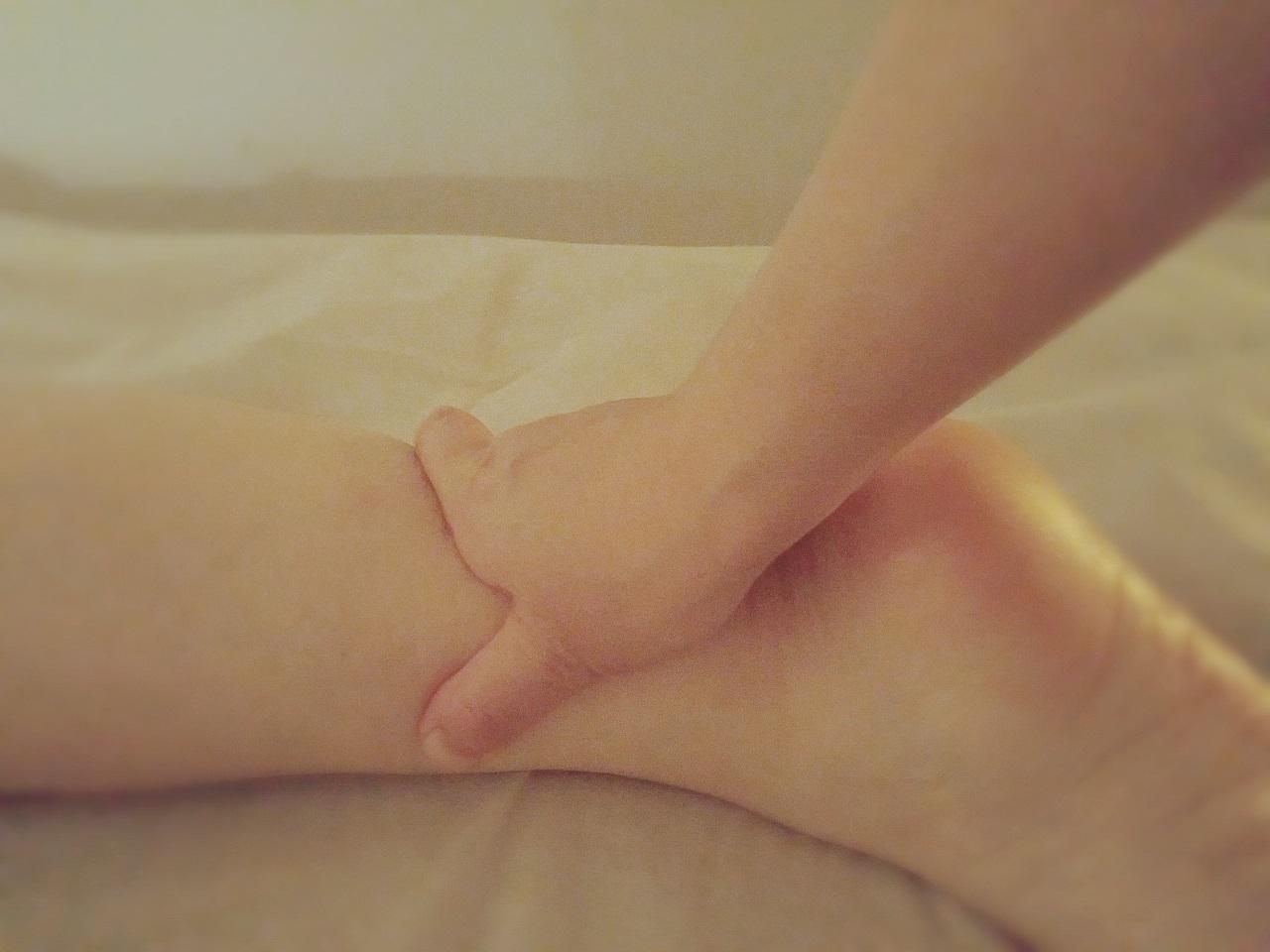 セルフケア~足ツボで体を労わる