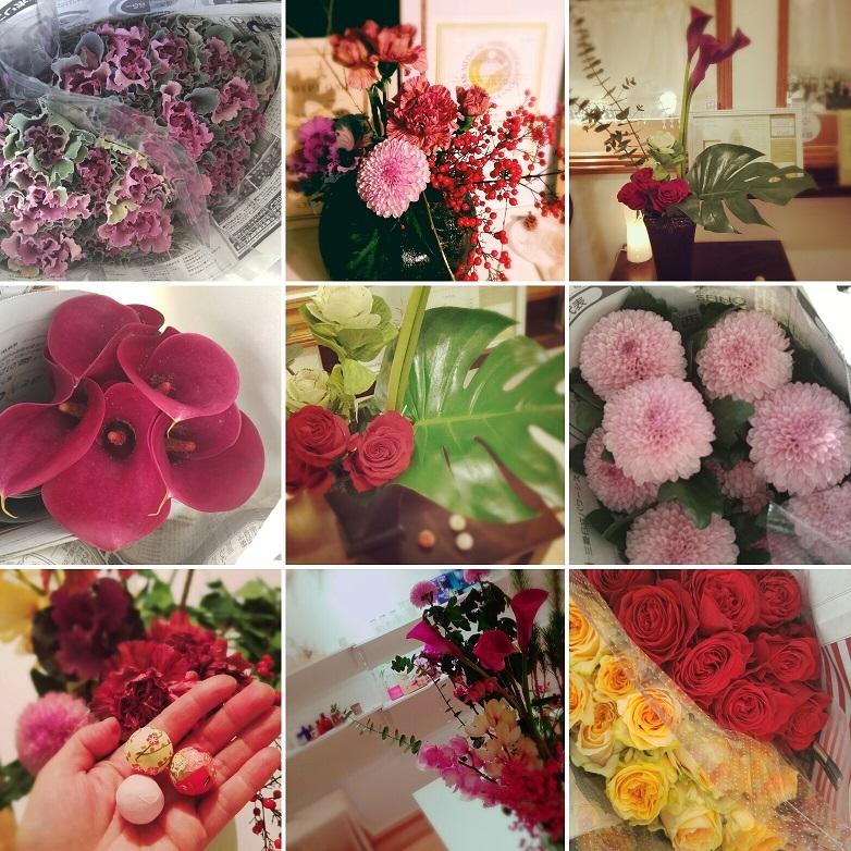 新年を想う~輝きの薔薇アレンジメント