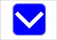 安全地帯の標識テンプレート・フォーマット・雛形