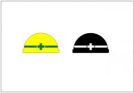 ヘルメットのフリー素材テンプレート・画像・イラスト