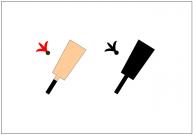 羽子板のフリー素材テンプレート・画像・イラスト