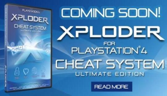 Xploder PS4のチートシステムはすぐに来て、予約注文可能