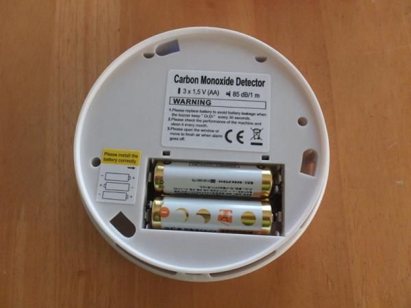 CO警報機電池