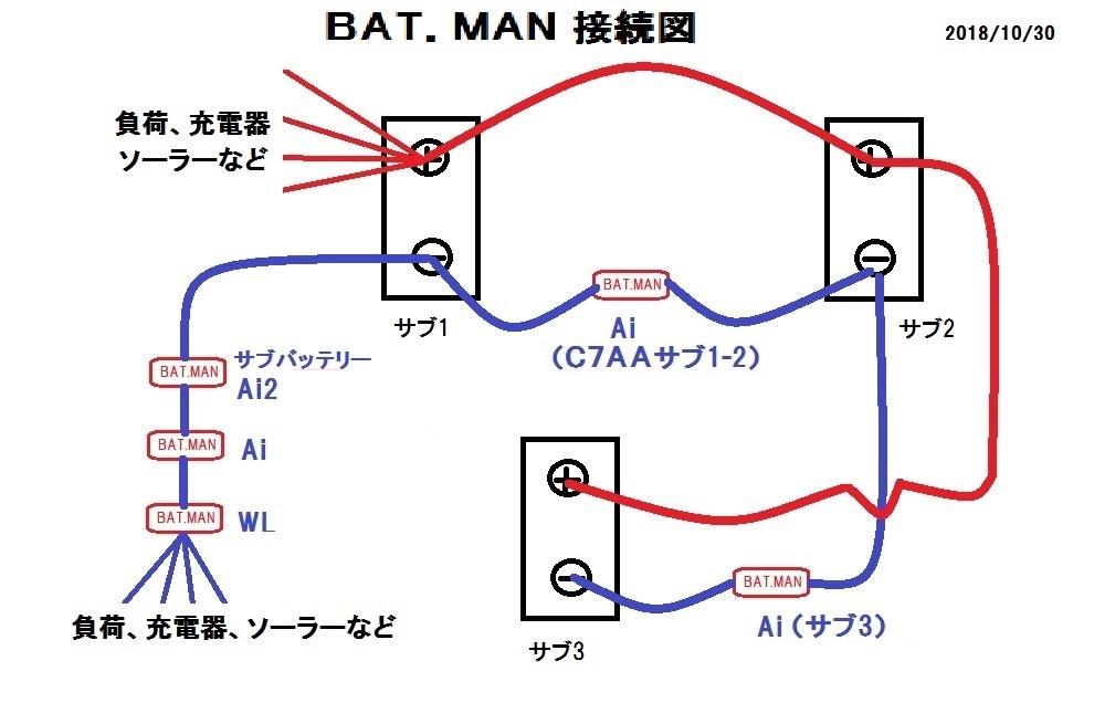 3バッテリー接続図