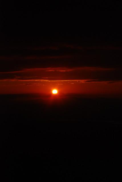 六甲山頂から初日の出_2017年