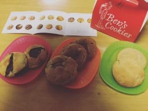 「Ben's Cookies」(ベンズクッキー)