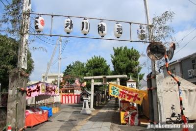 保木間氷川神社(足立区西保木間)1