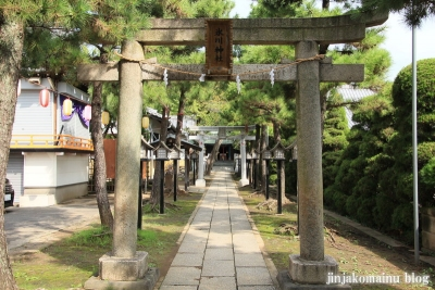 保木間氷川神社(足立区西保木間)6