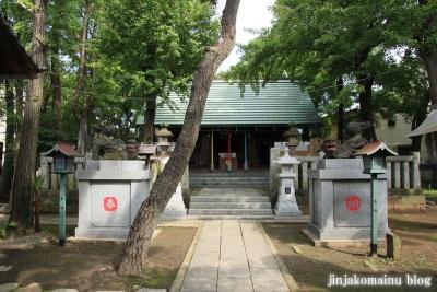 保木間氷川神社(足立区西保木間)11