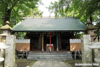 保木間氷川神社(足立区西保木間)13