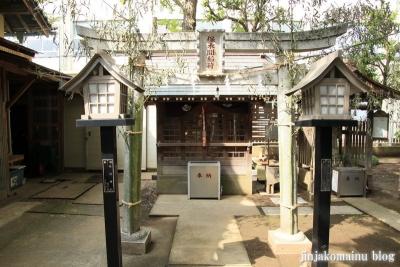 保木間氷川神社(足立区西保木間)16