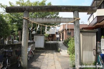 七面神社(足立区南花畑)1